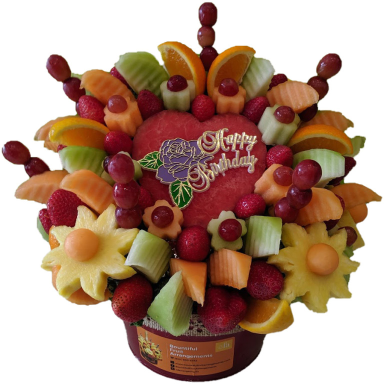 Birthday Edible Fruit Arrangements